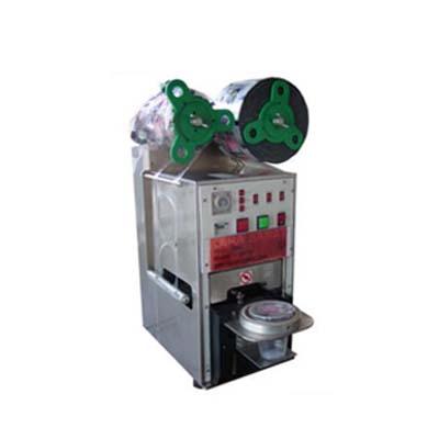 دستگاه سیل تمام اتوماتیک لیوان وظروف یکبار مصرف دارای چشم الکترونیک  می باشد.