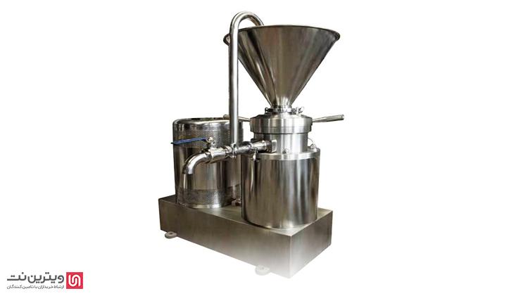 دستگاه کره گیر و ارده گیر برای تولید انواع کره و ارده از مواد غذایی مختلف مورد استفاده قرار می گیرد.