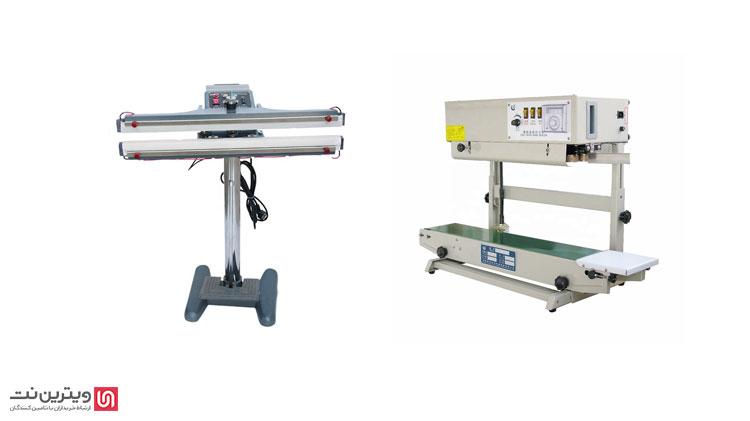 دستگاه دوخت پلاستیک ریلی و دستگاه دوخت پدالی برای بسته بندی محصولات مختلف در صنایع بسته بندی مورد استفاده قرار می گیرند