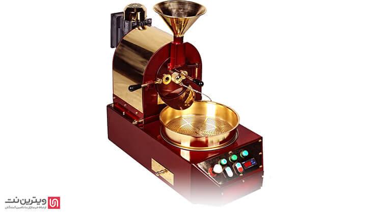 دستگاه روستر قهوه نیمه اتوماتیک برای مصارف خانگی و کافی شاپ ها و کسب و کارهای کوچک مناسب است.