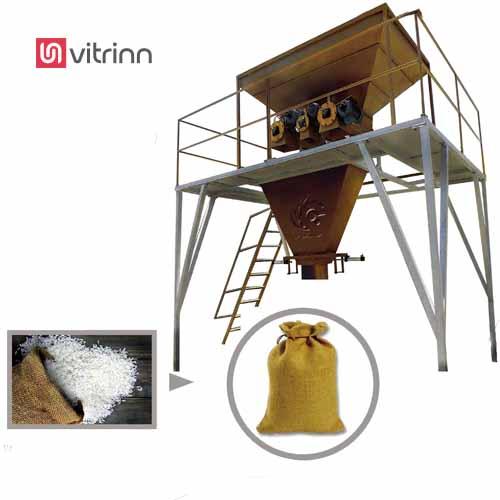 دستگاه پرکن گونی برنج
