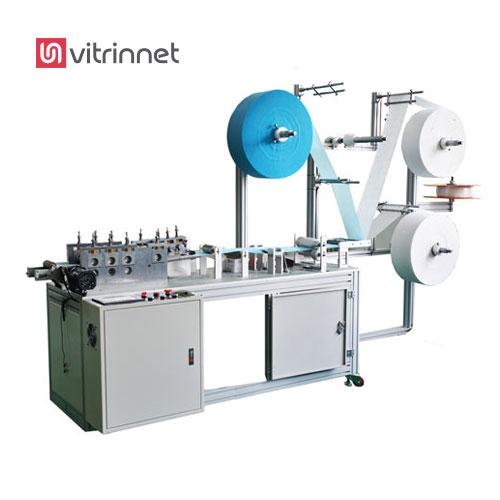 دستگاه تولید ماسک پزشکی برای تولید مکانیزه ماسک سه لایه کش دار یک بار مصرف پزشکی را به کار برده میشود