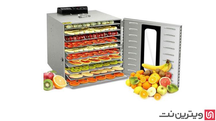 دستگاه میوه و سبزی خشک کن