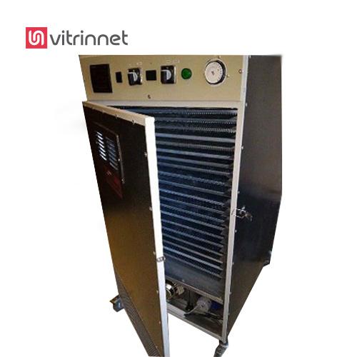 ظرفیت دستگاه خشک کن در هر دوره ورودی 10 کیلوگرم می باشد.