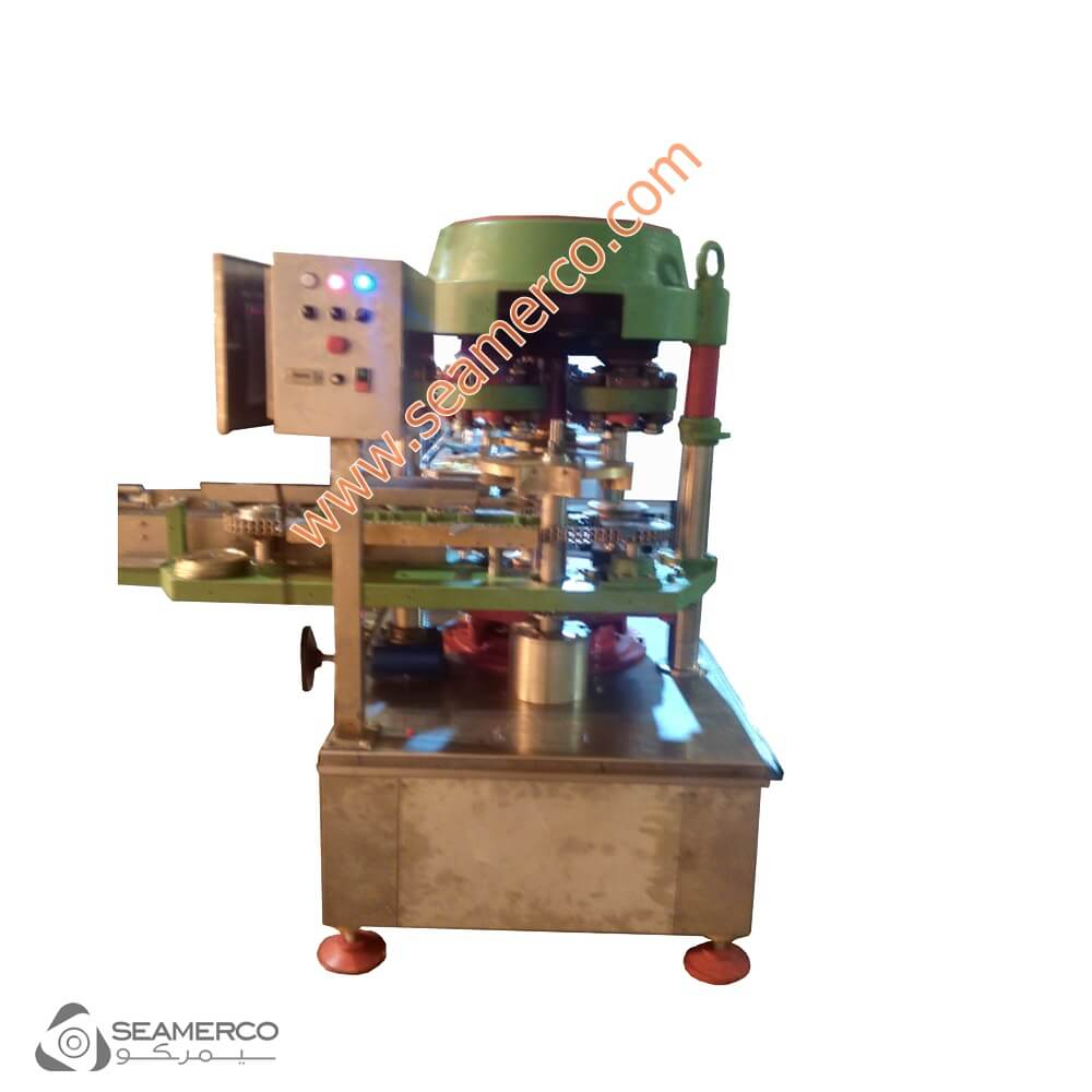 دستگاه دربند قوطی-قیمت دستگاه دربند قوطی-دستگاه پلمپ درب قوطی فلزی-دستگاه درب بند قوطی فلزی