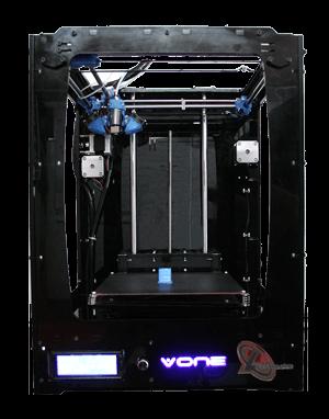 پرینتر های سه بعدی-انواع پرینتر های سه بعدی-ساختار پرینتر های سه بعدی-کار با پرینتر های سه بعدی-v one