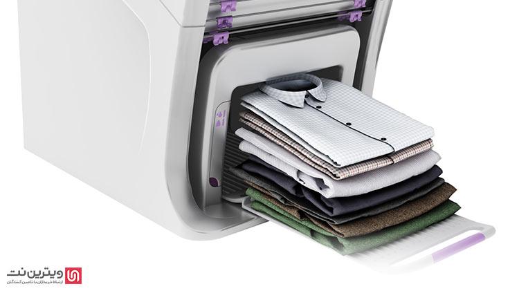 هنگام کار با دستگاه تا کن پیراهن اپراتور یا مصرف کننده در ترتیب عملیات و کنترل آن نقش دارد