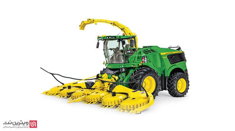 هد علوفه یا  forage head harvester از ابزار و ادوات مورد استفاده در کشاورزی مکانیزه است.