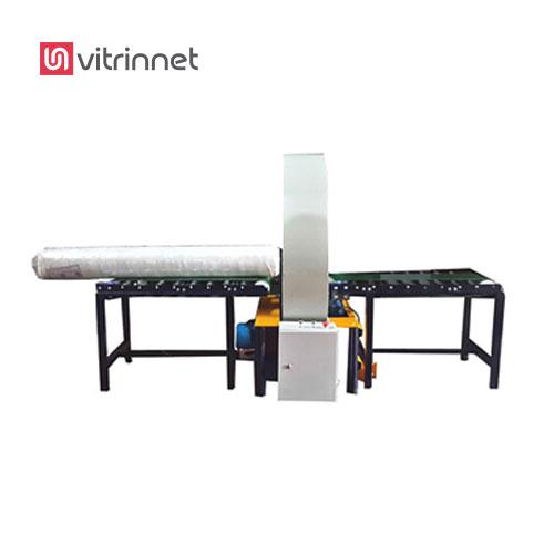 دستگاه استرچ پیچ افقی (اوربیتال رپر – پروفیل پیچ ) یا سلفون کش مخصوص بسته بندی محصولات  است.