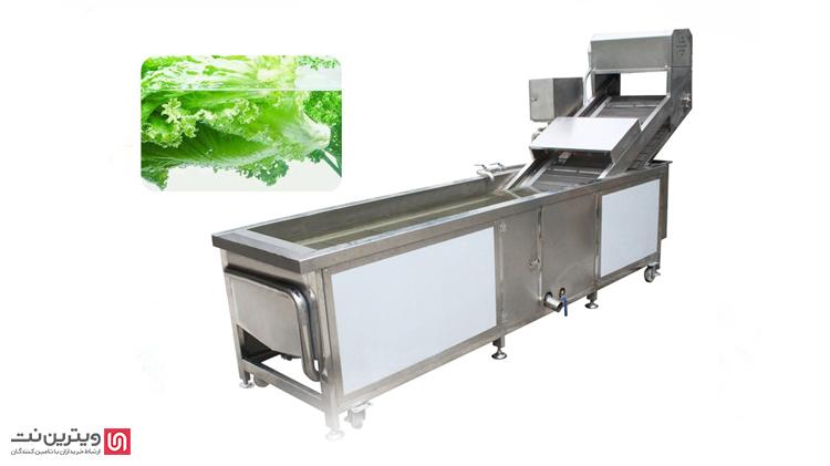 دستگاه و وان شستشوی مواد غذایی از مهم ترین بخش های تولیدی صنایع غذایی مختلف است.