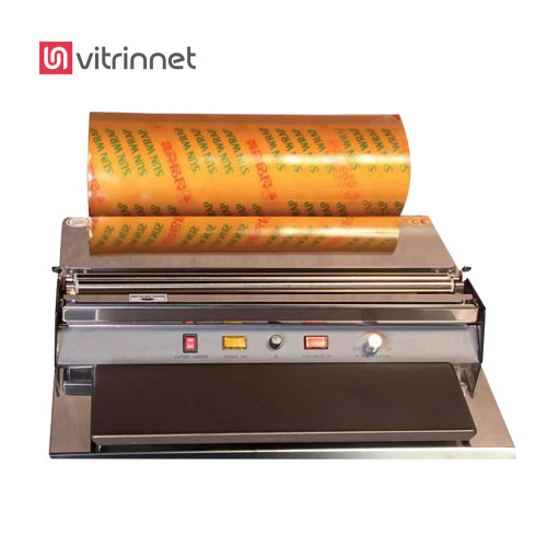 دستگاه بسته بندی سلفون استرچ قابل استفاده برای بسته بندی انواع ظروف مواد غذایی همچون قارچ استفاده میشود.