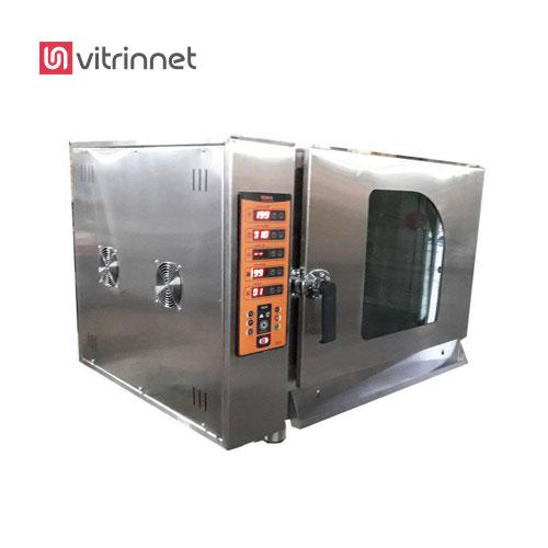 فر قنادی - شیرینی پزی مدل CA02-7 برای پخت کیک و شیرینی ، بیسکویت ، کلوچه و فر پخت نان های حجیم و نیمه حجیم کاربرد دارد.