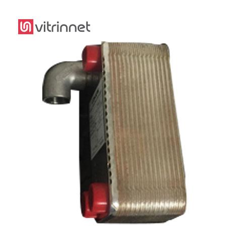 کندانسور خنک کننده به همراه اتصالات و لوله رابط استیل ٥٠ سانتیمتری