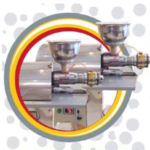 دستگاه روغن گیری دارای سیستم حرارتی اتومات و دیجیتال می باشد