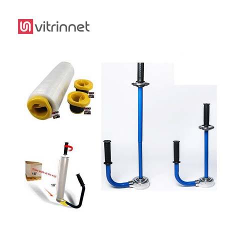 دستگاه استرچ پالت دستی جهت بسته بندی انواع پالت و کارتن بزرگ استفاده میشود.