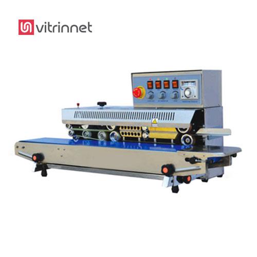 دستگاه دوخت ریلی ولومی با تاریخزن  CVF-900A , جهت درب دوزی کیسه هایی از جنس سلفون استفاده میشود.