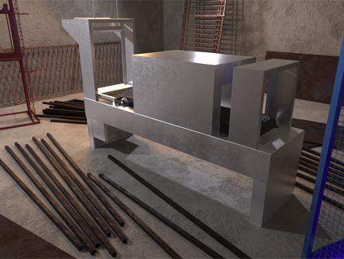دستگاه شیرینگ یا دستگاه شیرینگ تونلی قابل استفاده با برق سه فازاست .