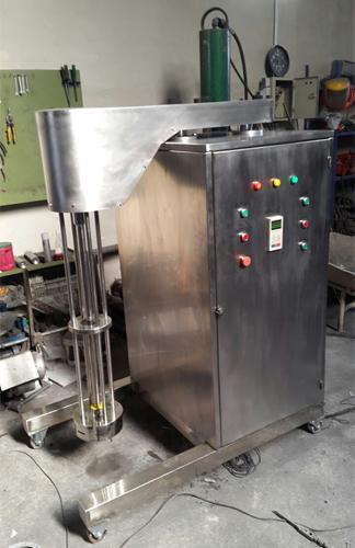 میکسر هموژنایزر پیوسته در صنایع غذایی برای سس سالاد، سس مایونز، بستنیو غیره استفاده میشود .