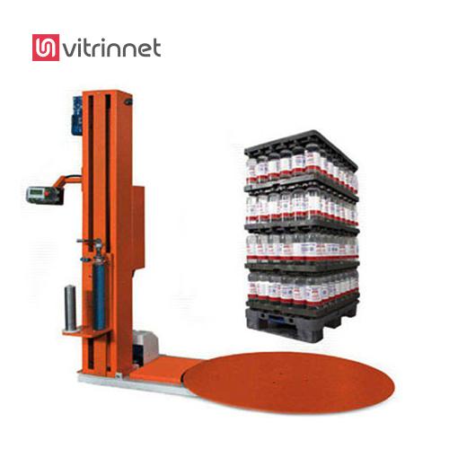 دستگاه استرچ پالت یکی دیگر از رایج ترین نوع بسته بندی استفاده از دستگاه استرچ پالت یا همان پالت پیچ است.