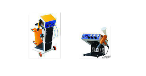 رنگپاش پودری الکترو استاتیک دارای نفوذ پذیری مناسب رنگ در گوشه های زوایای غیر قابل دسترس می باشد .