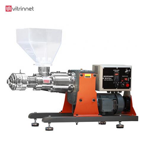 دستگاه روغنکشی پرس سرد 65 اکو دارای ظرفیت روغنکشی 13 کیلو گرماست.