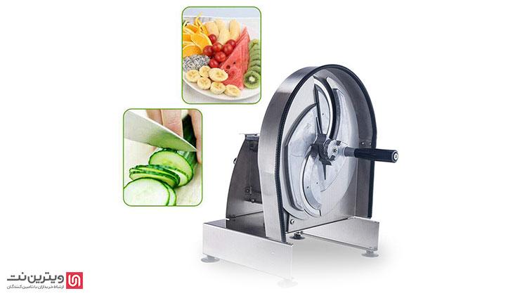 خصوصیات هر دستگاه اسلایسر، که یک دستگاه تصفیه و آماده سازی اولیه مواد غذایی است، منحصر به فرد تعریف میشود اما به صورت کلی دستگاه اسلایسر برای خردکردن موادی مانند :