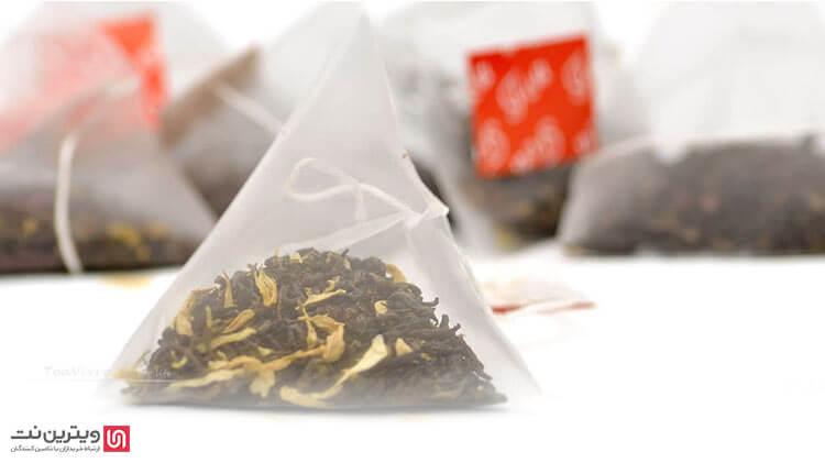تی بگ هرمی جدیدترین نوع تی بگ در جهان است که در دستگاه بسته بندی دمنوش مورد استفاده قرار میگیرد و طی سالهای اخیر بسیار محبوب شده است.