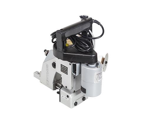دستگاه سر کیسه دوزی گونی برای دوخت سرکیسه های پی وی سی نیز به کار میرود.