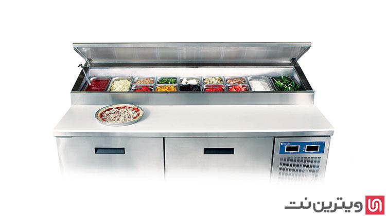 تاپینگ پیتزا از کاربردی ترین تجهیزات فست فود و رستوران است.