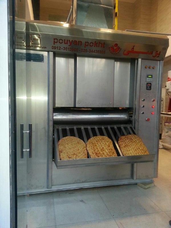 دستگاه فر تونلی با حرارت غیر مستقیم مخصوص پخت نان بربری می باشد.