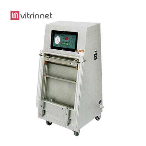 دستگاه بسته بندی وکیوم محصولات به صورت عمودی در داخل دستگاه قرار می گیرد .