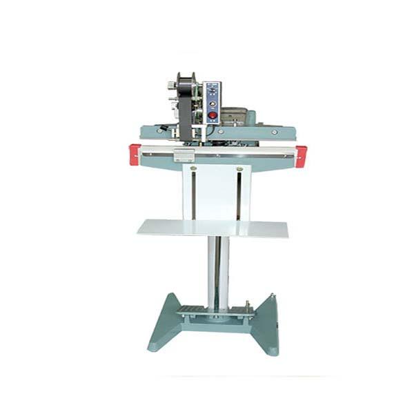 دستگاه دوخت پدالی با تاریخزن حرارتی قابلیت چاپ تاریخ در رنگ های مختلف را دارد