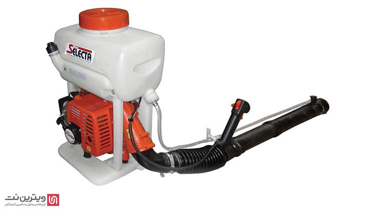 نحوه عملکرد سمپاش خرطومی با شکستن محلول و تولید سم با استفاده از جریان شدید هوا از طریق توربین نصب شده بر یک موتور دو زمانه صورت میگیرد.