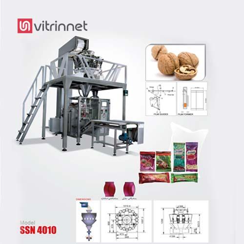 دستگاه بسته بندی ده توزین روتاری مخصوص بسته بندی انواع محصولات از قبیل حبوبات می باشد.