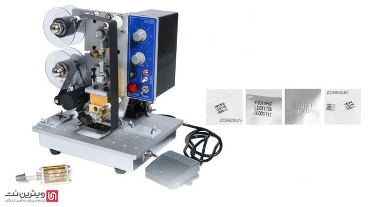 تاریخ زن های نیمه اتوماتیک از پدال های الکتریکی برای چاپ استفاده می کنند. بدین ترتیب اپراتور دستگاه فشار کمتری را تحمل خواهد کرد و سرعت عمل چاپ نیز افزایش خواهد یافت.