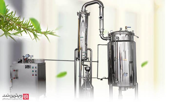 اشتغال در صنعت گلاب گیری یا عرق گیری چگونه است؟-دستگاه تقطیر عرقیات گیاهی چیست؟