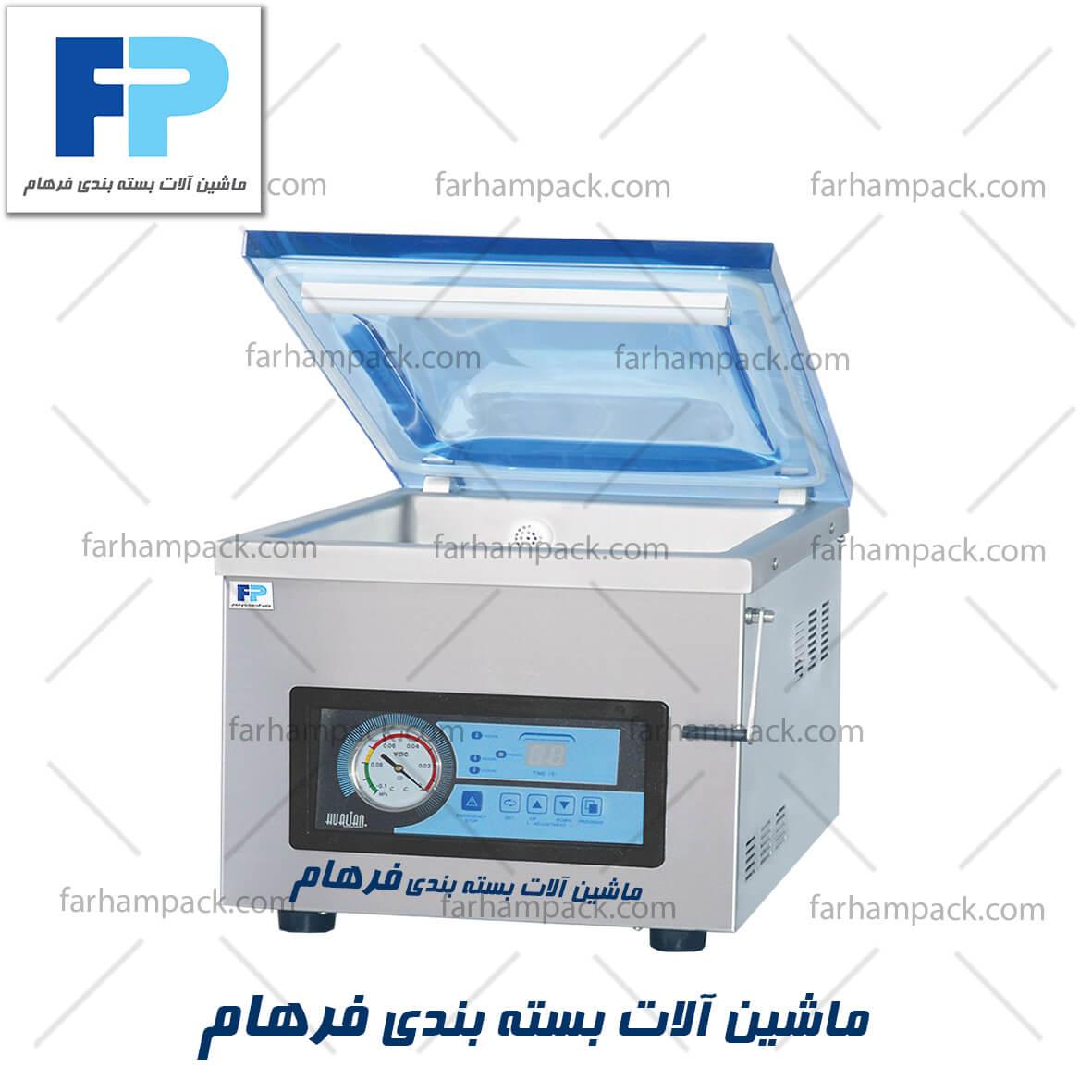 بسته بندی وکیوم چیست-دستگاه وکیوم رومیزی-انواع دستگاه وکیوم بسته بندی-قیمت دستگاه بسته بندی وکیوم