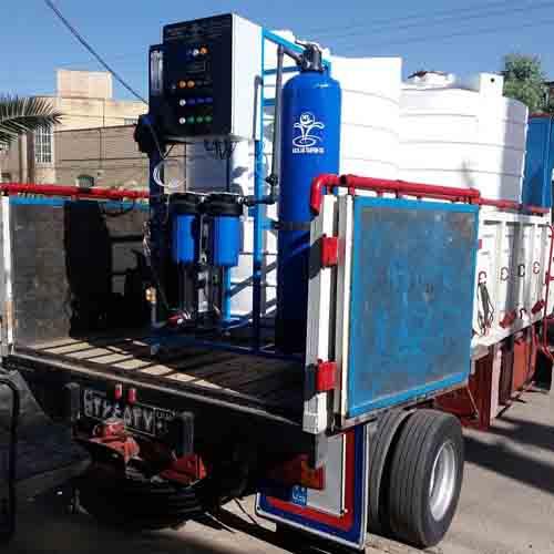 دستگاه تصفیه آب صنعتی و کشاورزی برای مصارف صنعتی و غیره مورد استفاده قرار میگیرد.