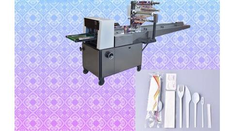 دستگاه بسته بندی قاشق وچنگال یکبار مصرف-قیمت دستگاه پک قاشق و چنگال-پک قاشق و چنگال یکبار مصرف