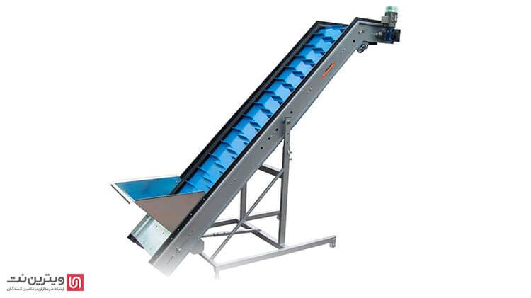 انواع بالابر مواد غذایی-دستگه بالابر پودری-دستگاه بالابر پودری برای حملو نقل مواد غذایی کاربرد دارد.