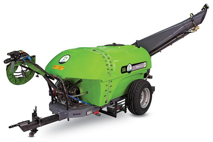 سمپاش توربینی زراعی دارای گیربکس 2 سرعته ایتالیا است .
