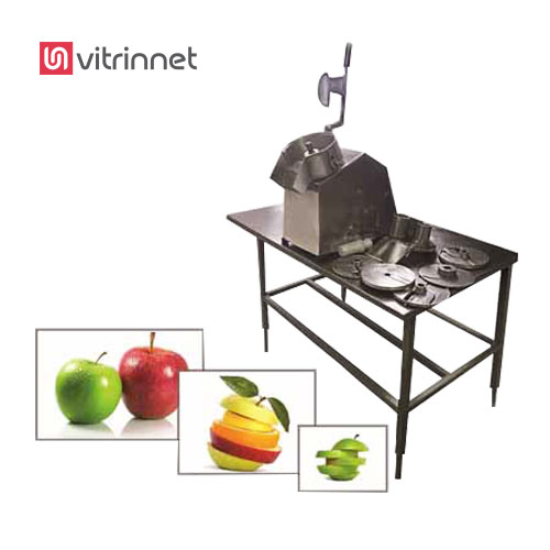 دستگاه اسلایسر مناسب برش انواع میوه ، سیب زمینی، هویج، قارچ، پیاز، کلم، کدو، بادمجان می باشد.
