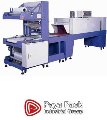 شیرینگ پلی اتیلن مجهز به سیستم پنوماتیک است