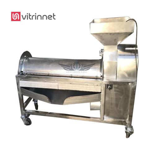 دستگاه انار دانه کن در خط تولید رب انار و آب گیری انار مورد استفاده قرار میگیرد