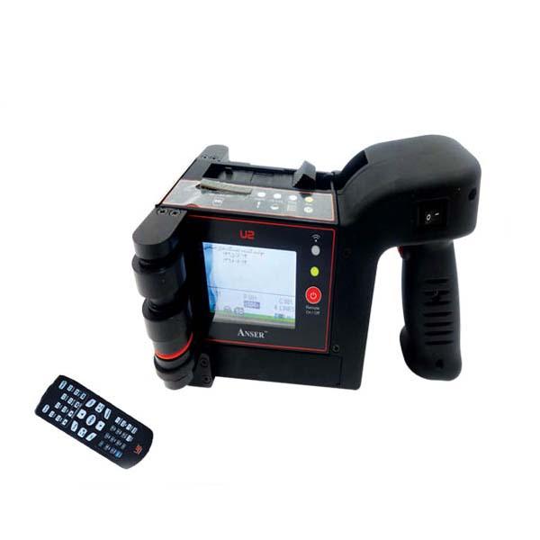 در دستگاه جت پرینتر دستی انتخاب منوها به صورت دیجیتال انجام میشود .