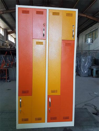 کمد رختکن جالباسی فلزی در تمام ارگانها , بیمارستانها, مورد استفاده قرار میگیرد .