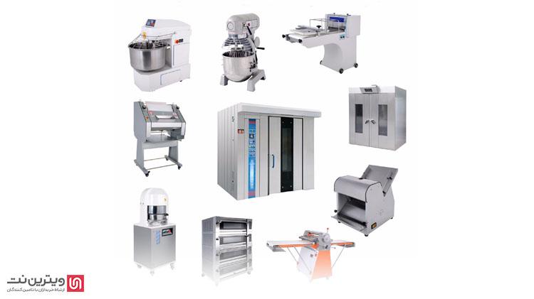 تجهیزات نانوایی و قنادی یکی از پرکاربردترین موارد در صنایع غذایی میباشد