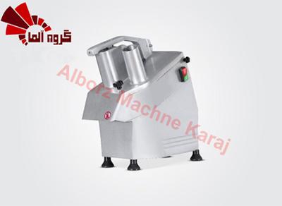 دستگاه اسلایسر و خلال کن برای انواع محصولات مانند پیاز، سیب زمینی و ... به کار میرود.