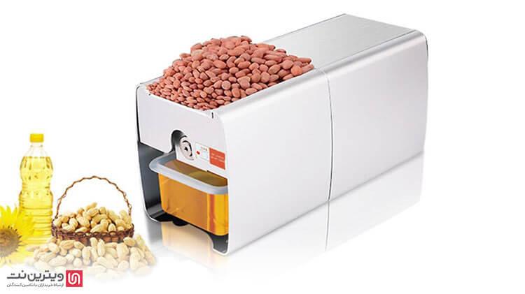 دستگاه ارده گیری امکان تولید ارده، و انواع کره از دانه های روغنی مثل بادام زمینی، پسته، نارگیل ، فندوق و غیره را دارد.