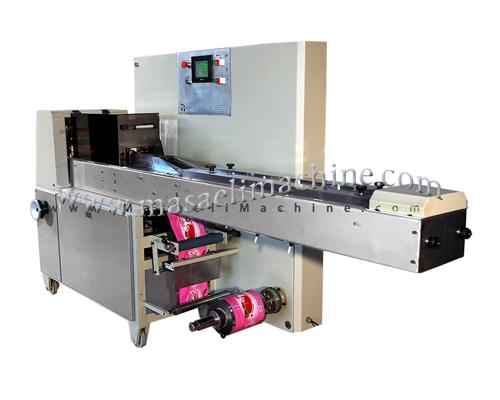 دستگاه بسته بندی سفره یکبار مصرف جهت بسته بندی انواع تیغ صورت تراشی به صورت چندتایی استفاده میشود
